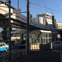 「飯倉片町」の交差点が見てきます