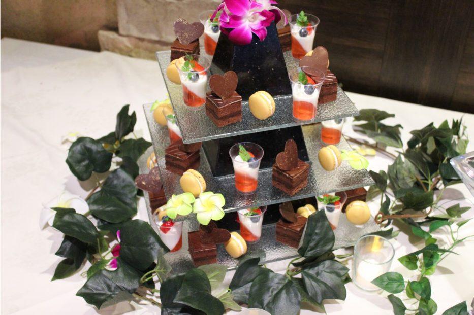 人気のケーキ盛り合わせのオプション