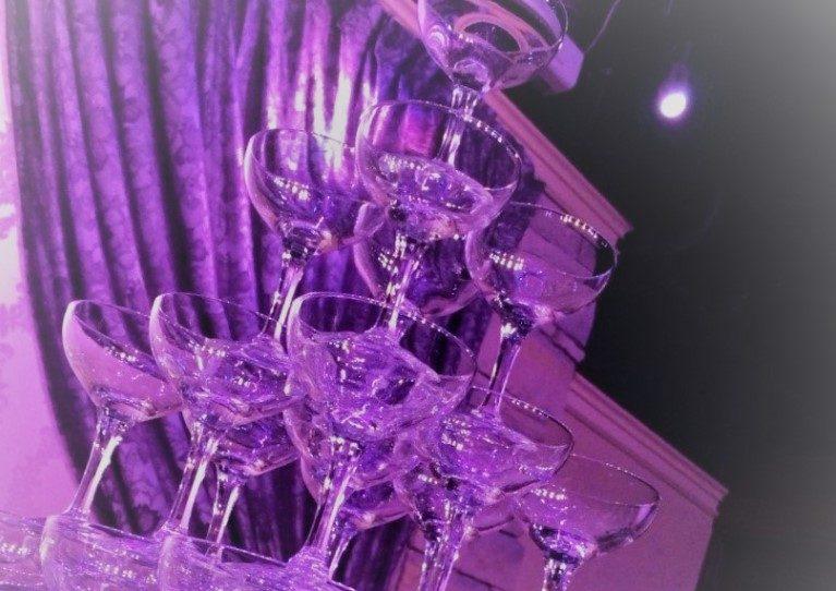 人気のオプション シャンパンタワー